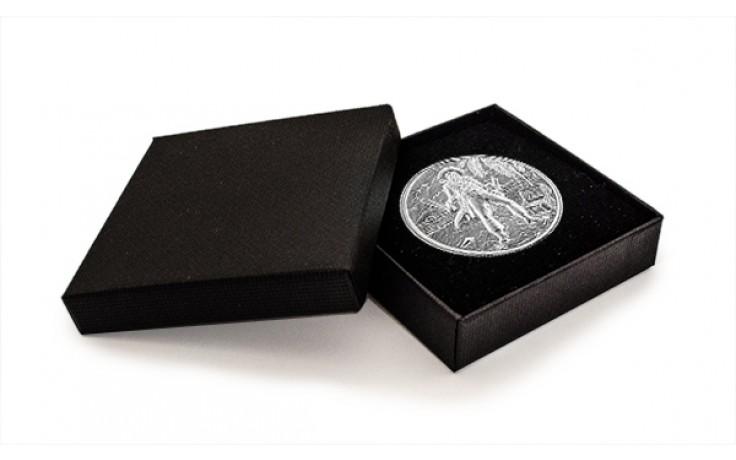 Geschenkbox aus Karton für Silbermünzen